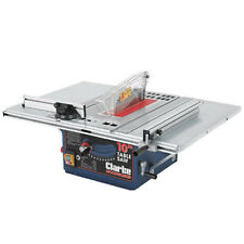 "Clarke 254M (10"") Table Saw With Left And Right Extensions - 6500751 - CTS10D"