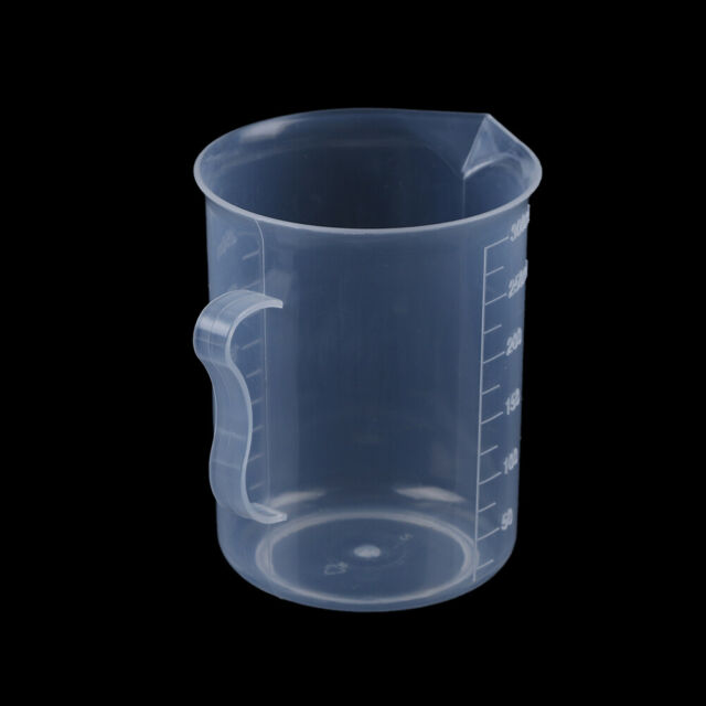 4 Sizes Plastic Measuring Jug Cup Graduated Surface Cooking Kitchen Bakery O9B8