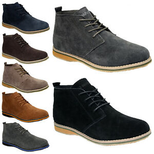 NEW-MENS-LADIES-DESERT-BOOTS-SUEDE-CASUAL-LACE-UP-FASHION-ANKLE-TRAINERS-SHOES