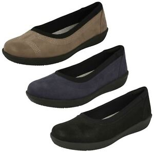 Details Slip Cloudsteppers Casual Low About Fitting On Ayla Shoes Ladies D Clarks JlKcu3T1F