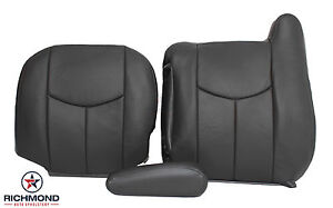 2006 Chevy Avalanche 1500 /& 2500 4X4 Driver Armrest Replacement Cover Dark Gray