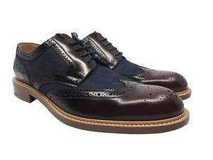 New Authentic Louis Vuitton Men's Shoes Voltaire Derby size 7.5 - 8 US #54H