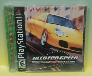 Need for Speed Porsche Unleashed  - Playstation 1 2 PS1 PS2 Game Complete  Works