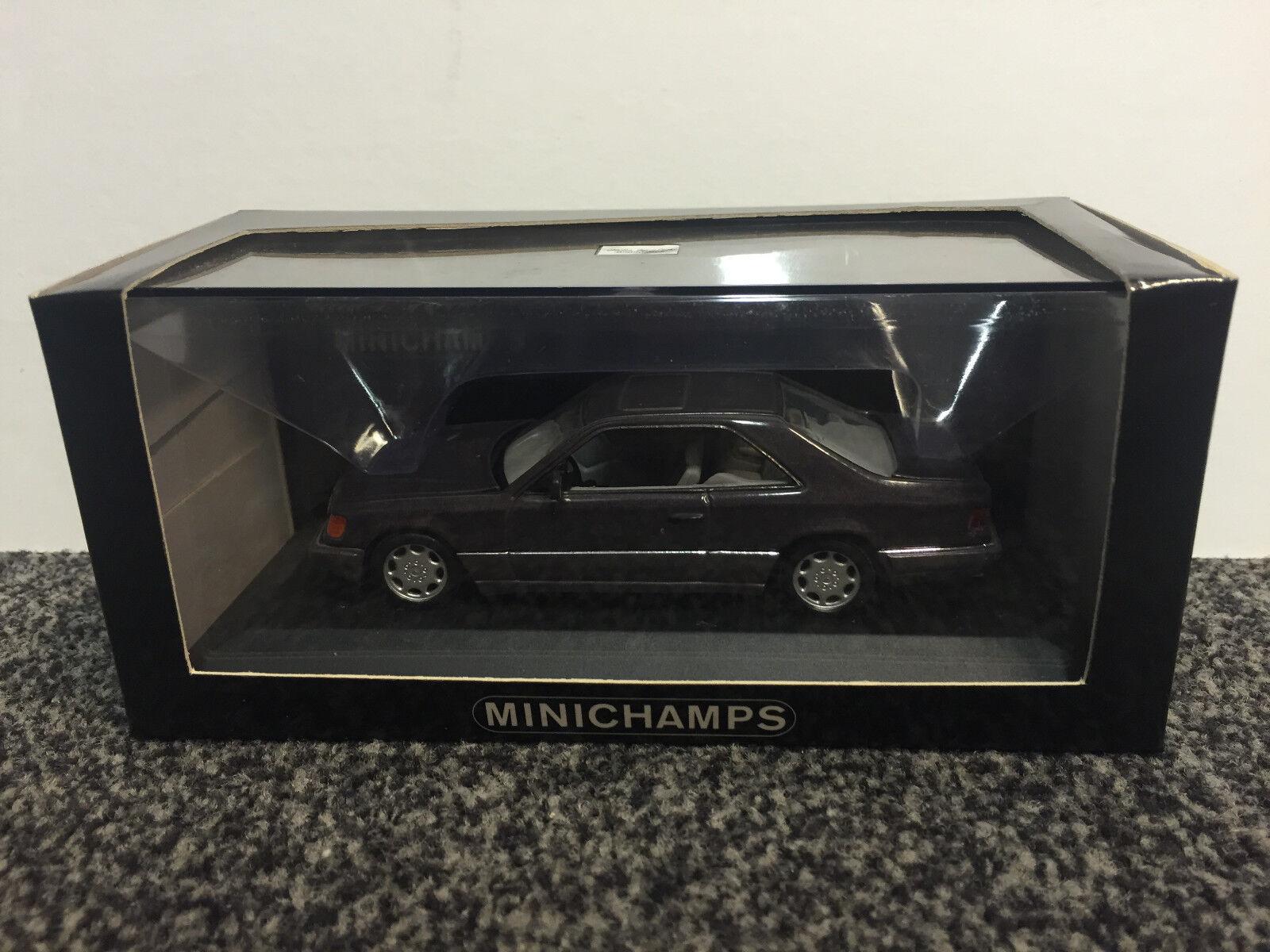 Mercedes-Benz MB E-Class E-Klasse Coupé 1994 Bornite Metallic 1 43 Minichamps