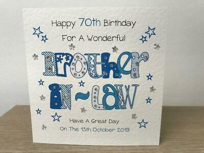 BLUES BROTHERS Personalised Handmade Card            All Occasions Birthday Open