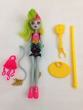 Monster High Freaky Fusion Lagoonafire Doll w/Stand