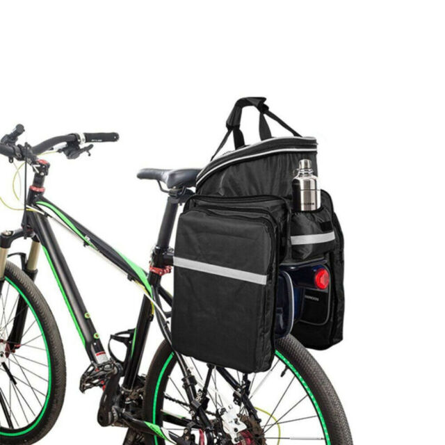 Bicycle Seat Rear Bag Bike Pannier Rack Pack Shoulder Cycling Carrier Waterproof