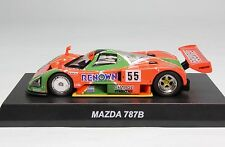 7259 Kyosho 1/64 Mazda 787B #55 Le Mans 1991 Winner Rotar Engine With Tracking