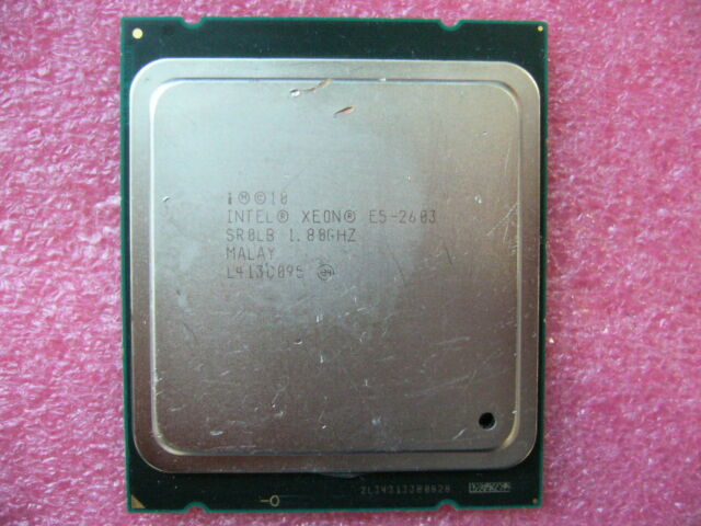 QTY 1x Intel CPU E5-2603 CPU Quad-Cores 1.8Ghz LGA2011 SR0LB