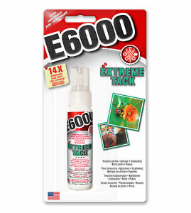 E6000 EXTREME TACK Repositionable Stay Tacky Glue Create Dots Line Scrapbooks