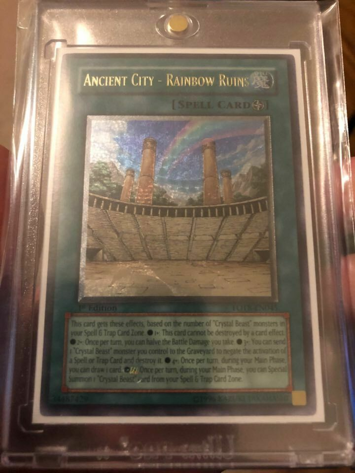 Ancient City FOTB-EN045 Rainbow Ruins Yu-Gi-Oh Rare