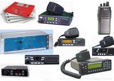 Programmatori apparati radio - schemi - manuali - interfacce di programmazione