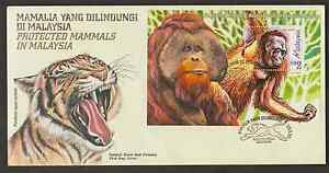 F234M-MALAYSIA-1999-PROTECTED-MAMMALS-MS-FDC