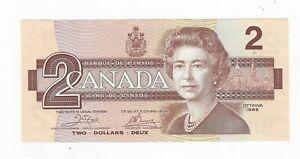 1986-Canada-2-Note-BC-55a-Cro-Bou-Ser-AUJ-9293618