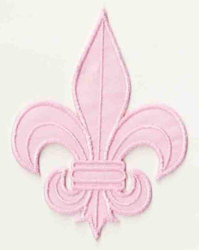 Écusson patche Fleur de Lys patch déguisement DIY brodé thermocollant