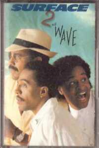SURFACE 2nd Wave CASSETTE Soul/Funk – on CBS (USA, 1988)
