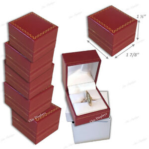 Details About Jewelry Gift Boxes For Jewelry Boxes For Sale Red Ring Jewelry Boxes Bulk 15 Pc