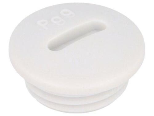 10x BLK-PG9 Blende PG9 IP54 Mat Polystyrol hellgrau 52005950 LAPP KABEL
