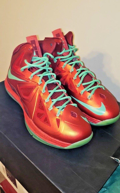 Nike LeBron X (10) Christmas, Size US 10 Nike LBJ Xmas