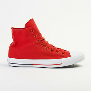 90c9bd41eb38f2 Image is loading CONVERSE-CHUCK-TAYLOR-SHEILD-RED-HIGH-TOP-CANVAS-