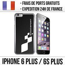 Coque iPhone 6 PLUS et 6S PLUS - Renault Sport Carbone