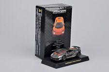 1:64 Kyosho Car Model Grey Lamborghini Minicar  Diecast Car Vehicles Collection