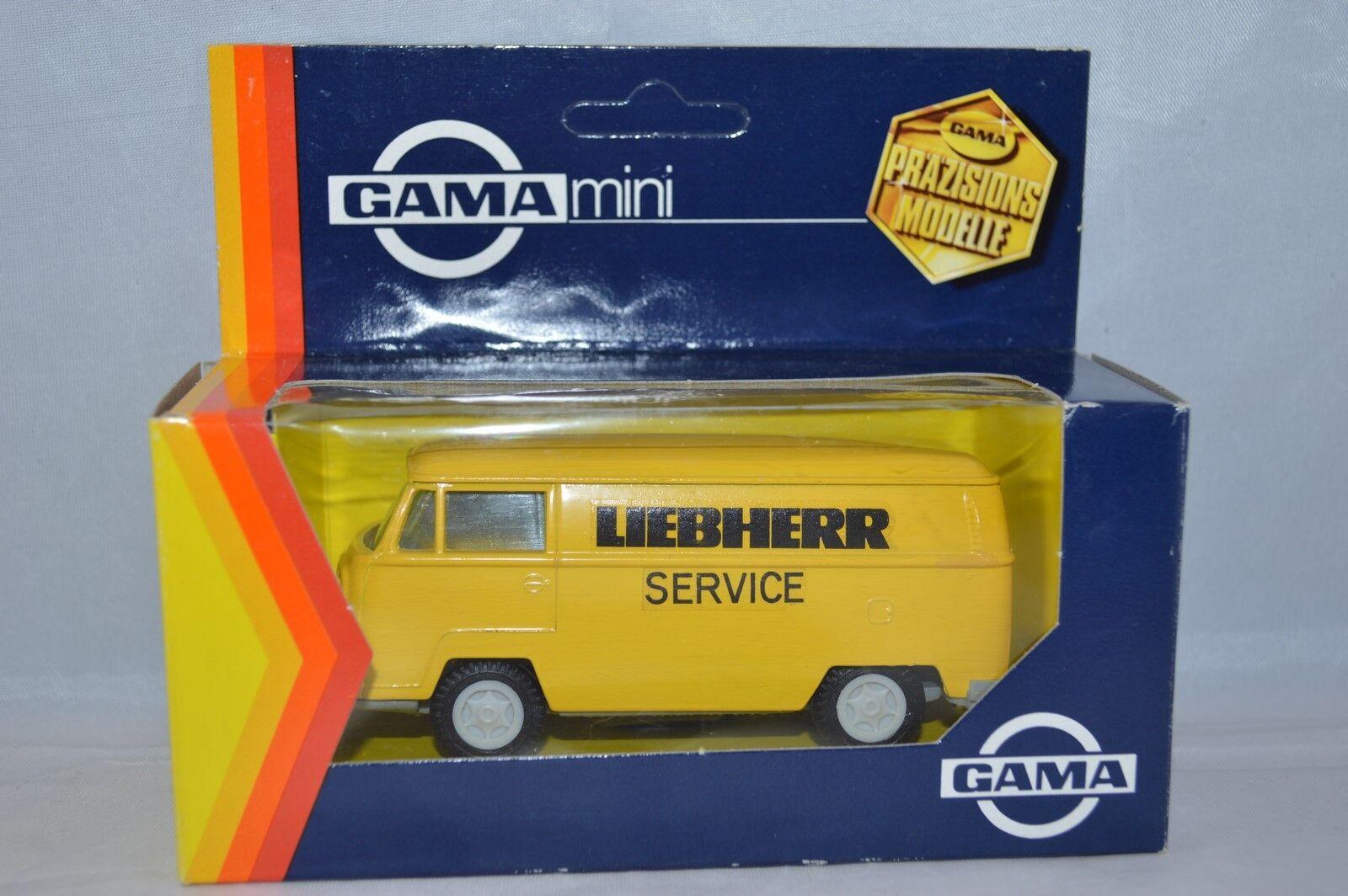 Gama 1 42 8 1602 000 VW Bulli Liebherr service   Mint in Box.