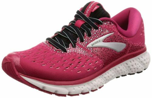 Pink//Black//Blue Brooks Womens Glycerin 16 Running Shoes