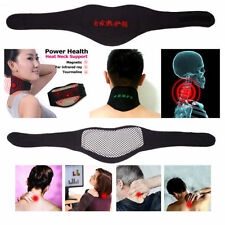 SELF HEATING Neck pain reliever,massager,warmer,magnetic therapy neck pad+GIFT.