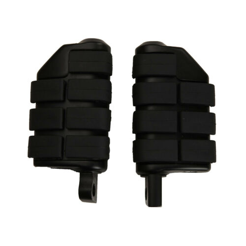 """1.25/"""" Long Angled Highway Engine Guards Foot Pegs For Harley Electra Road Glide"""