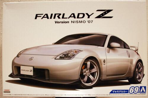 Aoshima 055229 2007 Nissan Fairlady Z Z-33 Nismo JDM 1:24