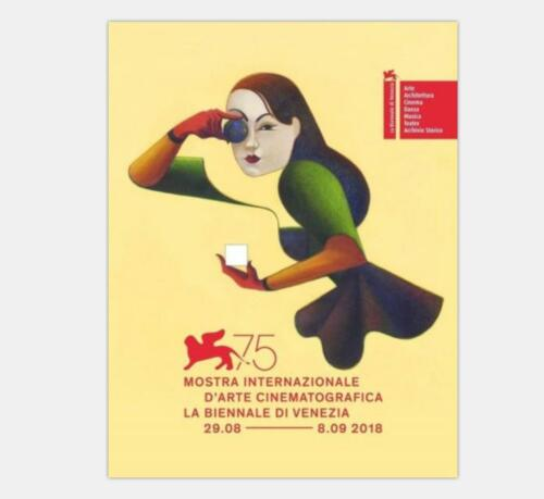 Z2377 75th Venice International Film Festival Hot Event Silk Poster 36x24 40x27