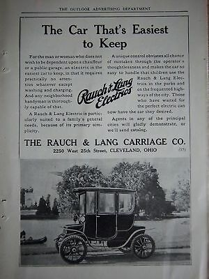 1910 Rauch & Lang Electrics Träger Auto Einfach Keep Ad Buy One Give One