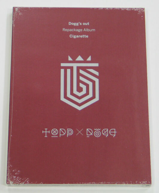 ToppDogg - Dogg's Out Repackage Album : Cigarette [CD+Photo Booklet] KPOP
