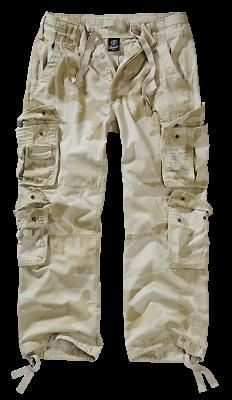 Offen Brandit Pure Vintage Freizeithose Herren Hose Sandstorm Camo S-7xl Fashion Outdo