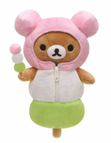 Sanx Rilakkuma Plush Doll 3color Dango Sleeping Bag MR56901 Japan