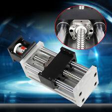 100mm Linear Module Rail Guide Sliding Table Sfu1605 Ballscrew Nema23 Step Motor
