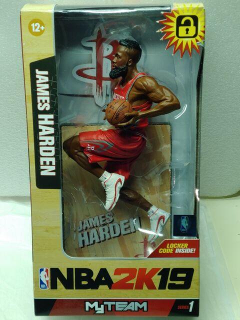 McFarlane NBA 2K19 Series 1 James Harden Houston Rockets Red Jersey*