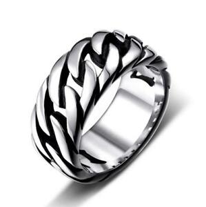 Men-Women-Cool-Punk-Stainless-Steel-Creative-Locomotive-Chain-Ring-Band-Jewelry