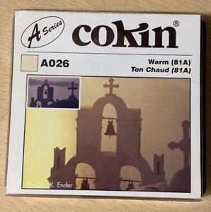 Cokin-A026-Warm-Up-81A-Filter-Brand-New