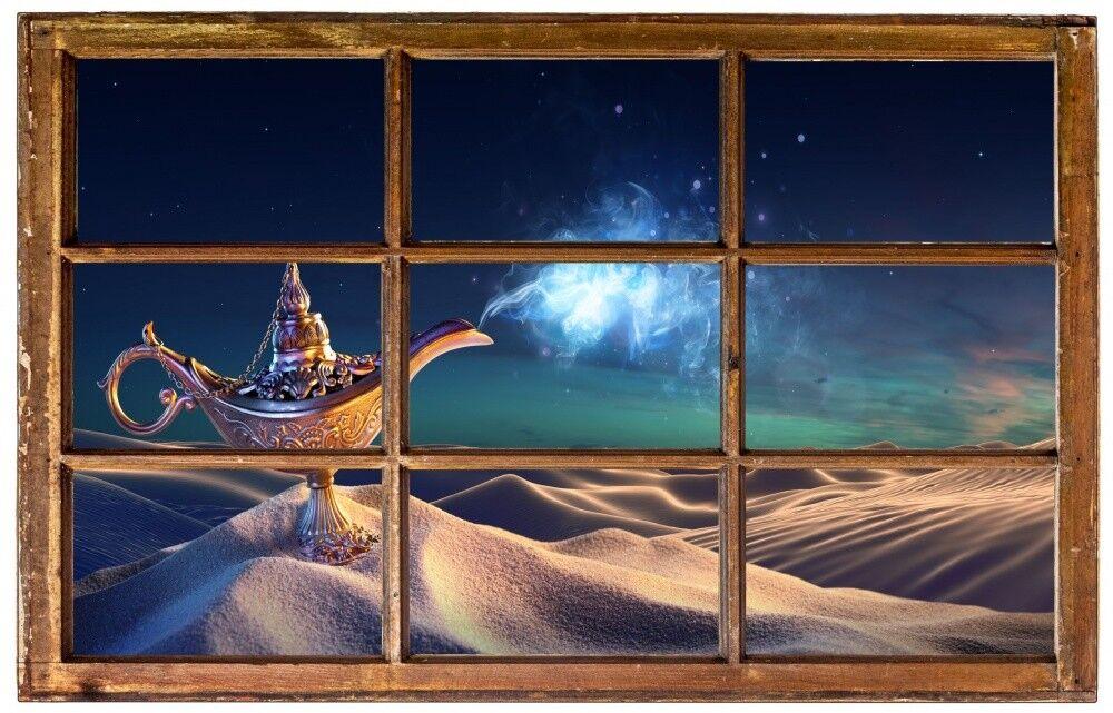 Deserto miracolo di notte Lampada Muro Tatuaggio Parete Adesivo Parete Adesivo h0517