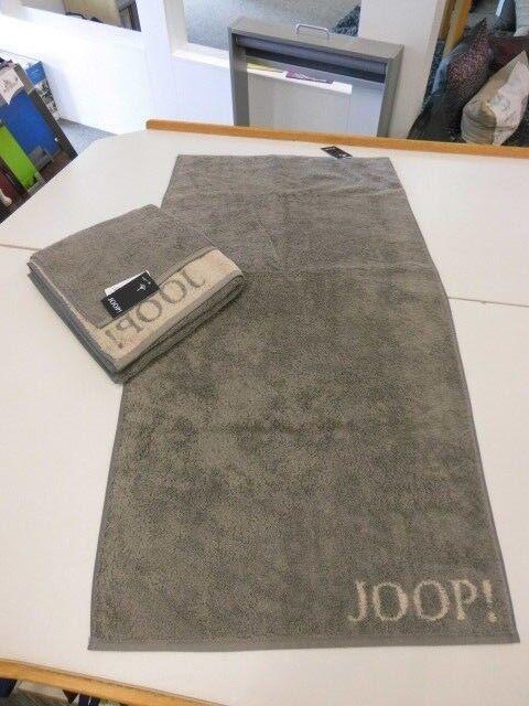 Modestil Brauch langlebig im einsatz Joop Handtuch Handtücher 50x100 Classic Doubleface 1600-70 Graphit