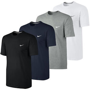 Nike-Mens-Gym-Sports-Cotton-Tee-T-Shirt-Top-Swoosh-Classic-Size-S-M-L-XL-NEW