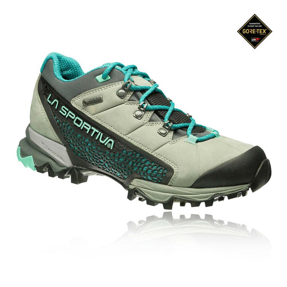 La Sportiva Womannens Genesis Gore-Tex Surround Trail schoenen blauw kudde Trainers