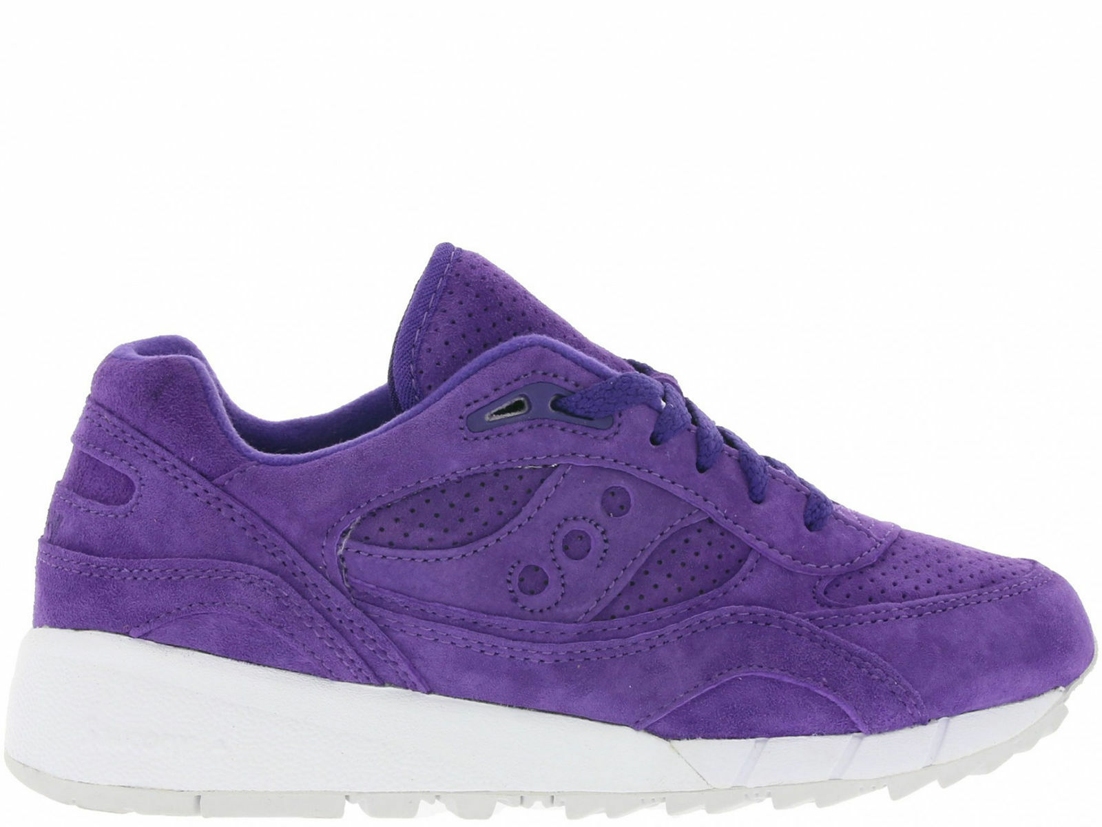 free shipping 8d8ee ffed1 Saucony Men's Shadow 6000 Suede Egg Hunt Purple Shoes S70222-3 a