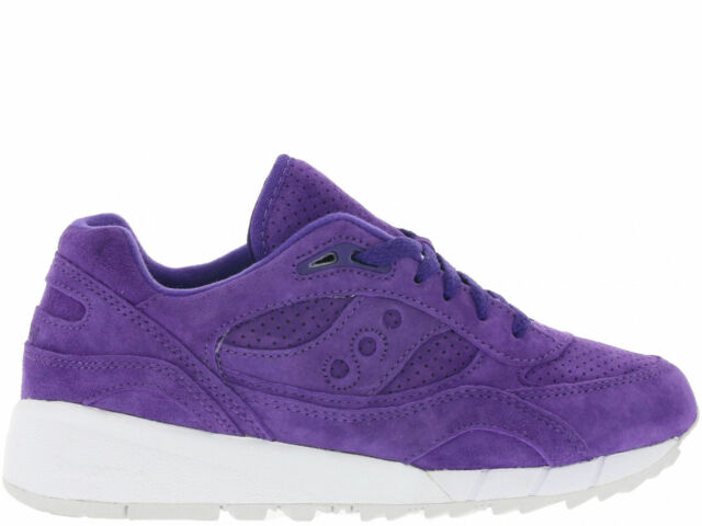 8ff16f14aff3 Saucony Shadow 6000 Easter Mens S70222-3 Purple Suede Running Shoes ...