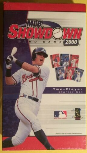 Wizards of the Coast MLB Showdown Chipper Jones Starter Set Card Game 2000 New