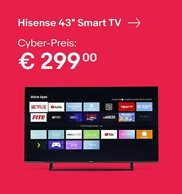 "Hisense 43"" Smart TV"