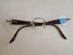 5751b491e9 Image is loading Lindberg-Titanium-T50-Eyeglasses-Rimless-Glasses-Hand- Denmark-