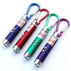 Flashlight Keychain 3 in 1 Multifunction Mini Laser Light Pointer UV LED Torch